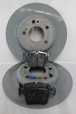 Genuine Mercedes-Benz W205 C-Class Saloon/Est Rear Discs & Pads Kit NEW!