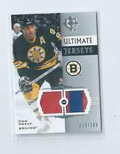 Cam Neely 2-Color Ultimate Jerseys 2007-08 Ultimate Collection Upper Deck Hockey