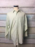 Brooks Brothers  Mens Striped L/S Button Down Shirt Sz 16.5 - 34 Non Iron
