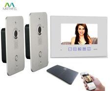 4 Draht Video Türsprechanlage Gegensprechanlage 7 Zoll Monitor Klingel Farb