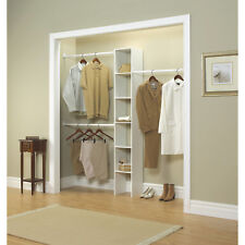 "Closet Organizer. Closetmaid Vertical, 12"", White"