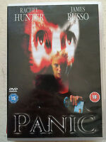 Panic DVD 2001 Crime Thriller Film Movie with Rachel Hunter and James Russo