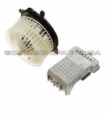 Mercedes W220 W215 A/C Heater Blower Motor 2208203142 + REGULATOR RESISTOR SET 2