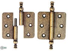 100 Schnappschloß Schatullen Schatullenverschluss Etui-verschluss alt Messing