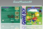 """Boitier du jeu """"BART SIMPSON'S"""", Game Boy. PAL FR. HD. SANS LE JEU."""