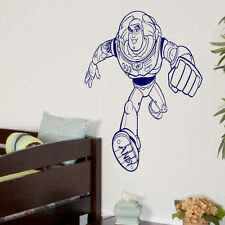 LARGE TOY STORY BUZZ LIGHTYEAR CHILDRENS BEDROOM WALL ART MURAL STICKER DECAL