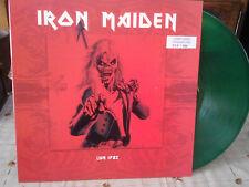 "iron maiden""live 1982 hammersmith.limited édition;nu°227/250exp.vinyl vert.mint."