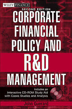NEW Corporate Financial Policy and R&D Management (Wiley Finance)