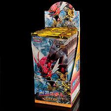 Pokemon Sammelkarten XY TURBOfieber EX 30 Booster Packs 1 Box Display Koreanisch