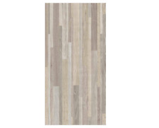 12x24in Taupe Banded Wood Peel And Stick Tile Parquet Vinyl Floor Tiles 20 Sq Ft