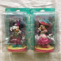 DISNEY TOKYO DISNEY RESORT 2011 Easter Wonderland Mickey Minnie Mouse Figurine