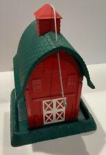 Village Collection Barn Bird Feeder North States Industries Part 9081, Red/Green