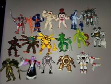 1990's BANDAI MIGHTY MORPHIN POWER RANGERS EVIL SPACE ALIENS FIGURE LOT of 17