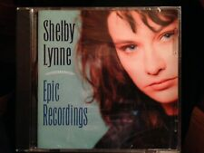 Shelby Lynne - Epic Recordings (2000,Lucky Dog) 16 TRKS BRAND NEW FACTORY SEALED