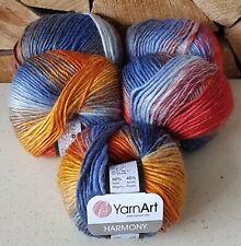 Alize BURCUM BATIK suave y colorido Aran Hilo De Peso De 500 gramos de 5 bolas 2978