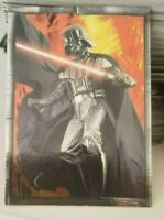 2005 TOPPS STAR WARS REVENGE OF THE SITH  #10 DARTH VADER EMBOSSED FOIL CARD