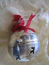 1994 International Silver Co. Annual Christmas Bell-Silver Plate