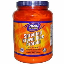 Sprouted Brown Rice Protein 2 Lbs NOW Foods