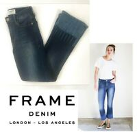 Frame Denim -Le Crop Mini Boot Blue Jean - flare, Tie Dye Adair 24 Crop $245