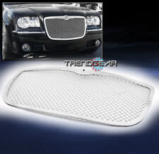 2005-2010 CHRYSLER 300/300C FRONT UPPER STAINLESS 2.5MM WIRE MESH GRILLE CHROME
