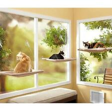 Cat Window Mounted bed Cat Seat Pets Sunny Hammock Beds Cover Washable 55 x 35cm