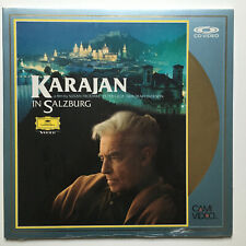 Karajan in Salzburg | Film | PAL | LASERDISC still sealed