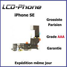 Connecteur de Charge iPhone SE Blanc + Antenne GSM + Prise Jack + Micro