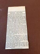m7-4 ephemera 1889 article liverpool skating disaster breckside park