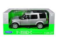 Welly 1:24 - 1:27 Land Rover Discovery 4 SUV Diecast Model Car Silver 24008S