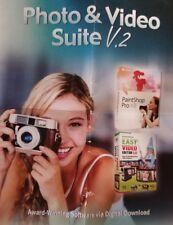 Photo & Video Suite V2 V.2 w/ Corel PaintShop Pro X8 Easy Video Editor 3.0 PC