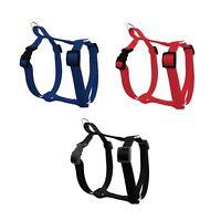 Nylon Dog Cat Harness Collar Safety Strap Vest Soft Walk
