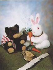 Pattern-Teddy & Bunny Hide-A-Way Cuties- Don'T Miss! Finders Keepers