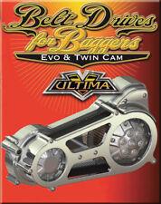 """2"""" OPEN BELT ULTIMA PRIMARY DRIVE KIT FOR HARLEY BAGGER FLT FXR FLT EVO TWIN CAM"""
