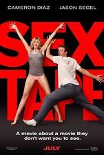 SEX TAPE (2014) 11x17 PROMO MOVIE POSTER - CAMERON DIAZ & JASON SEGEL  ~MINT