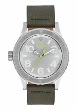 NIXON 38-20 LEATHER 38mm Men's Watch A4672232 BRAND NEW!