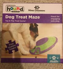 Dog Treat Maze Interactive Puppy Toy Treat Dispenser Game NEW