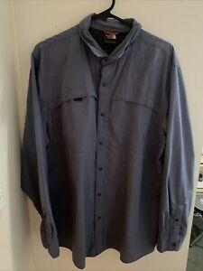 THE NORTH FACE Mens Hiking Long Sleeve Shirt Reg Fit Men's L/XL