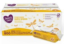 Parent's Choice Fresh Scent Baby Wipes, packs of 100 (800 count) *FAST SHIPPING*