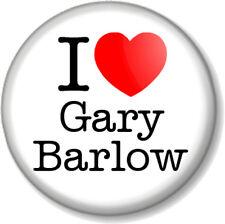 """I Love / Heart Gary Barlow 1"""" 25mm Pin Button Badge TAKE THAT Boy Band X Factor"""