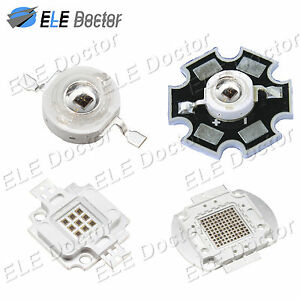 LED COB Chip Light IR 850nm 940nm 3W 5W 10W 20W 30W 50W 100W High Power Infrared