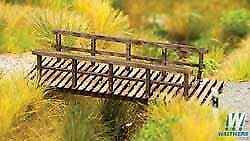 WALTHERS SCENEMASTER HO SCALE FOOT BRIDGE KIT 949-4128