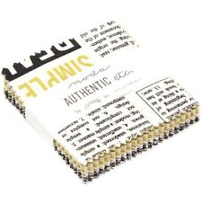 """8 Authentic Etc Mini 2.5"""" Charm Packs by Sweetwater for Moda Fabrics"""