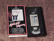 Midnight Express + The Amsterdam Kill (VHS x 2) NARC ACTION) LOT) Free Ship.)