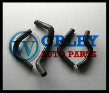 For SUZUKI DRZ400E radiator black silicone hose 2003-2007 03 04 05 06 07