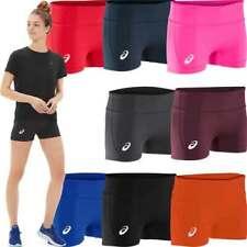 "Genuine ASICS Women's 3"" Circuit Nylon/Spandex Compression Volleyball Shorts"