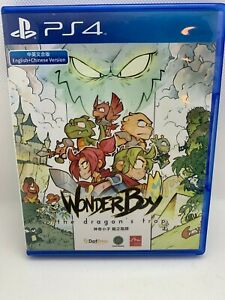 Wonder Boy: The Dragon's Trap (Sony PlayStation 4 PS4, 2017) English/Chinese Ver