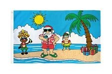CHRISTMAS Island Holiday Party 3x5 Polyester Flag