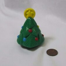 Fisher Price Little People CHRISTMAS TREE w/ ORNAMENTS Holiday RARE Holiday