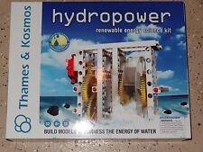Thames & Kosmos Hydropower Renewable Energy Science Kit New Hydro Power
