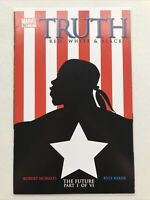 Truth Red White And Black 1, Marvel 2003, Isaiah Bradley, Captain America Falcon